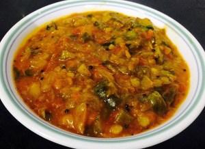 IMG_2046-300x218 Kathirikai Kothsu/Eggplant Tomato Gravy