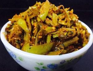 IMG_4054-300x228 Bottle Gourd Peel Curry/ Sorakkai Thol Poriyal