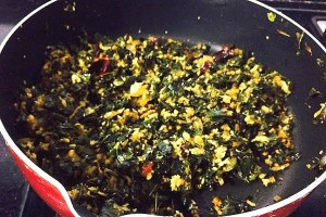 IMG_4258-300x200 Moringa Leaves Dry Curry/ Murungai Keerai Poriyal