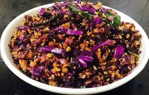 IMG_4610-300x192 Purple Cabbage Stir Fry / Kerala Purple Cabbage Thoram