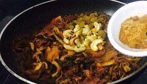 IMG_4729-300x173 Bitter Gourd with Cashew Nuts / Kaju Karela
