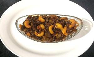 IMG_4732-300x182 Bitter Gourd with Cashew Nuts / Kaju Karela