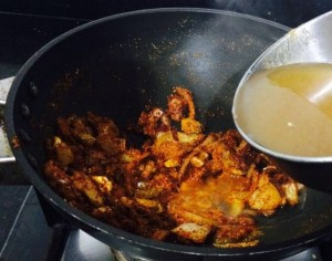 IMG_4796-300x236 Boiled Eggs in Coconut and Tamarind Gravy/ Muttai Kara Kozhambu/ Puli Kozhambu with Eggs