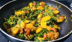 IMG_7621-300x175 Siru Keerai Potato Masala / Potato Amaranth Leaves Curry