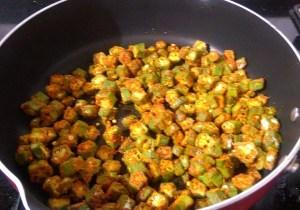 IMG_7631-300x210 Bhindi Fry / Stir Fried Crispy Okra