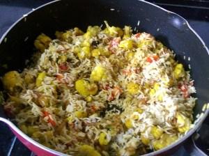 IMG_7940-300x224 Cauliflower Pulao /Gobi Rice