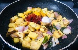 IMG_8033-300x195 Yam and Chick Pea Curry/Senai Kadalai Curry