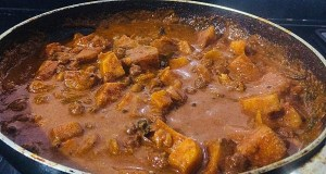 IMG_8038-300x160 Yam and Chick Pea Curry/Senai Kadalai Curry