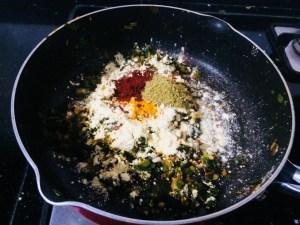 IMG_8159-300x225 Green Onion Curry/ Spring Onion Subzi