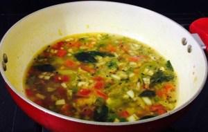 IMG_8198-300x191 Vegetable Chick Pea Flour Sambar (Soup)