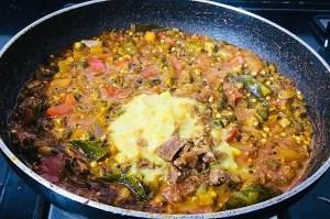 IMG_8437-300x199 Okra Tomato Curry/Vendaikkai Pachadi (Nellai Style)