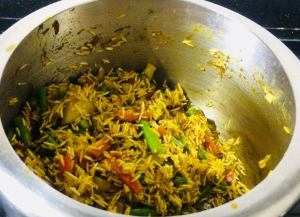 VKPZ0714-300x217 Tamil Nadu Vegetable Biryani