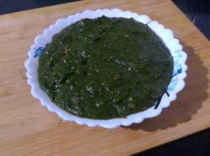 WAOV3534-300x223 Mustard Leaf Gravy with Indian Corn Flat Bread/Makki Ki Roti and Sarson ka Saag