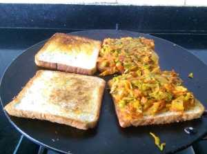 LVCF3574-300x223 Vegetable Masala Sandwich