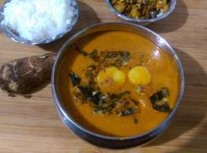 CEBN6601-300x223 Taro Curry/ Arbi Masala/Kerala Chembu Masala Curry