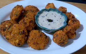 VZVI4776-300x189 Mixed Lentil Fritters/Thavalai Vadai