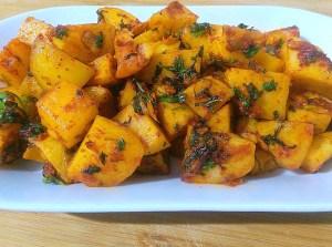 DOOW8898-300x223 Spicy Lebanese Potatoes/ Batata Harra