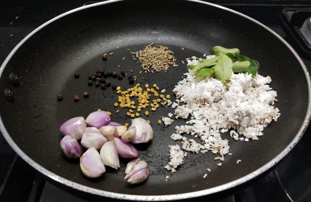 DSNU1492-1024x666 Potato Moringa Gravy/ Aloo Drumstick Kuzhambu