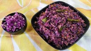 EINI4679-300x168 Karnataka Style Purple Cabbage Stir Fry/ Purple Cabbage Palya (Cabbage Poriyal)