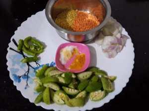 EJGQ1429-300x225 Spiny Gourd Lentil Curry/ Kantola Dal