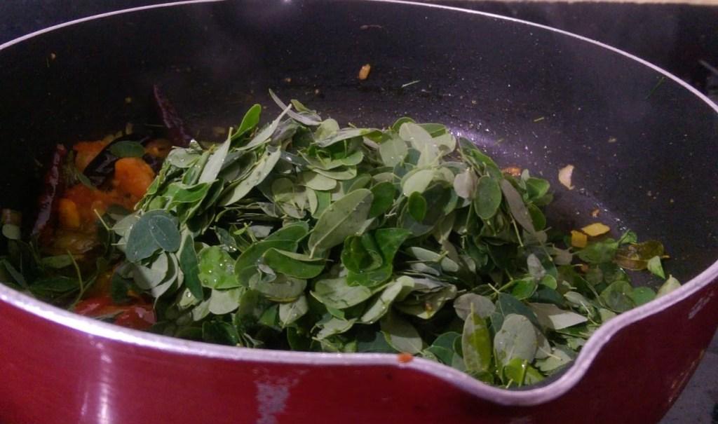 FVQO2413-1024x605 Moringa Leaves Lentil Curry/ Murungai Keerai Kootu