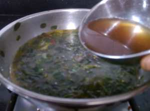 GDBB6605-300x223 Moringa Leaves with Lentil/ Murungai Keerai Sambar