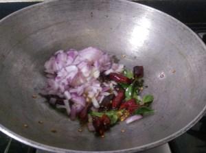 GOKE1188-300x223 Moringa Leaves and Green Gram Lentil Stir Fry/ Murungai Keerai Paasi Paruppu Poriyal