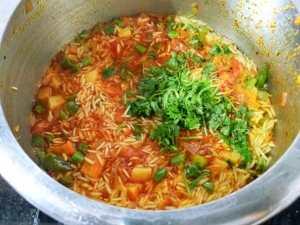 JVYA2299-300x225 Simple Masala Rice in a pressure Cooker