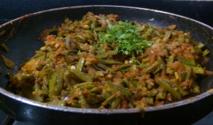 KBCB7844-300x176 Cluster Bean Peanut Curry / Kothavarangai Verkadali Curry/ Gawar Phalli Peanut Curry
