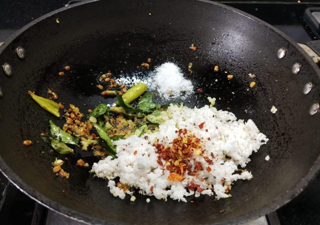OPHB1870-1024x722 Moth Bean Stir Fry/ Matki Sundal/ Matki Sukhi Bhaji
