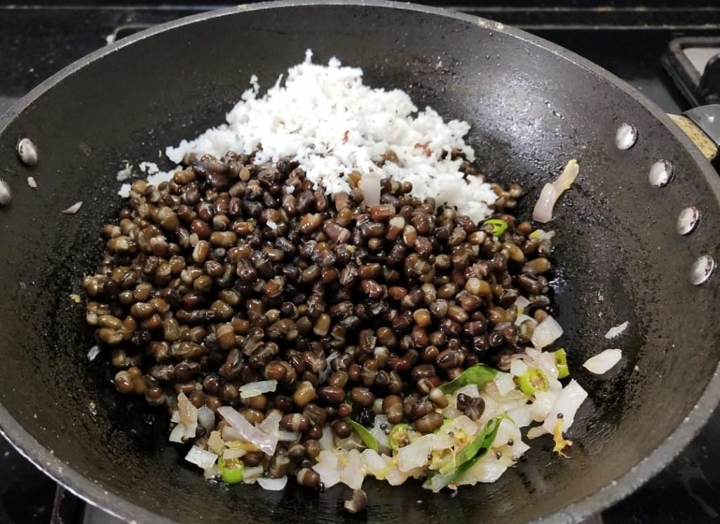 PQRP3590-1024x745 Whole black gram stir fry/Whole Urad Dal Bhaji/Karuppu Ulundhu Sundal