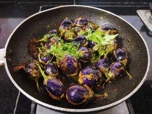 QPBB1546-300x225 Stuffed Andhra Style Brinjal (Eggplant) Curry/ Gutti Vankaya Kura