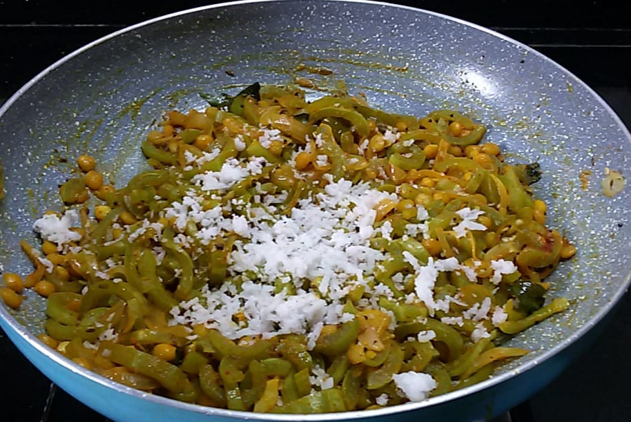 TIEN1603 Padwal Bhaji/Gourd Curry