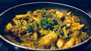 UTDL5368-300x169 Potato Cluster Beans Curry/Aloo Gawar Phalli Subzi