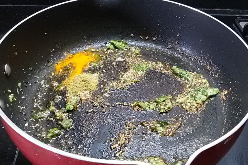 VFCI0198 Maharastrian Cabbage Stir Fry/ Gobichi Bhaji
