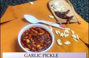 garlic-pickle Entree