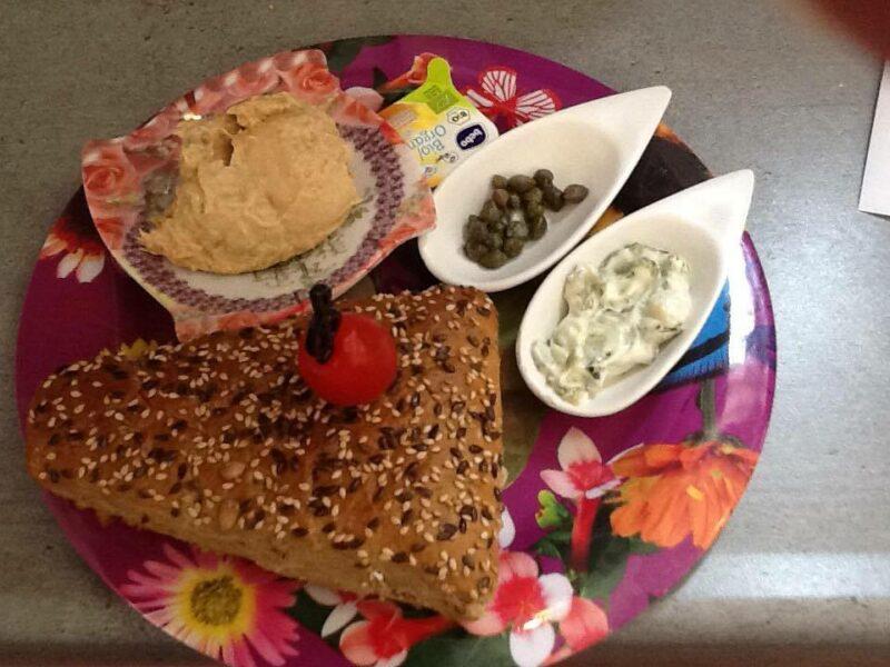 Broodje met Tonijnsalade