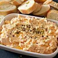 Greek Spicy Feta Dip Recipe {Cheese Galore}