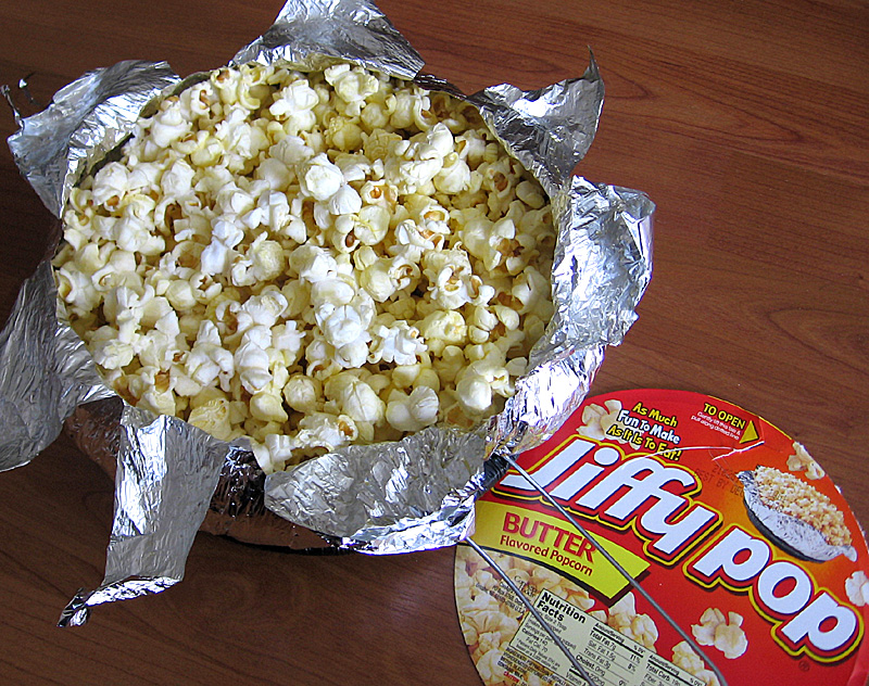 Hurricane Popcorn In A Jiffy Tasty Island