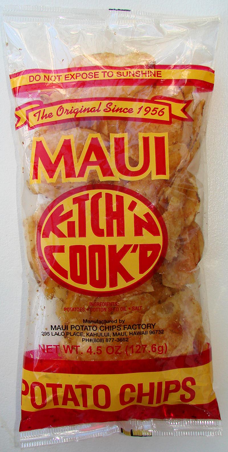 kitch'n cook'd maui potato chips – tasty island