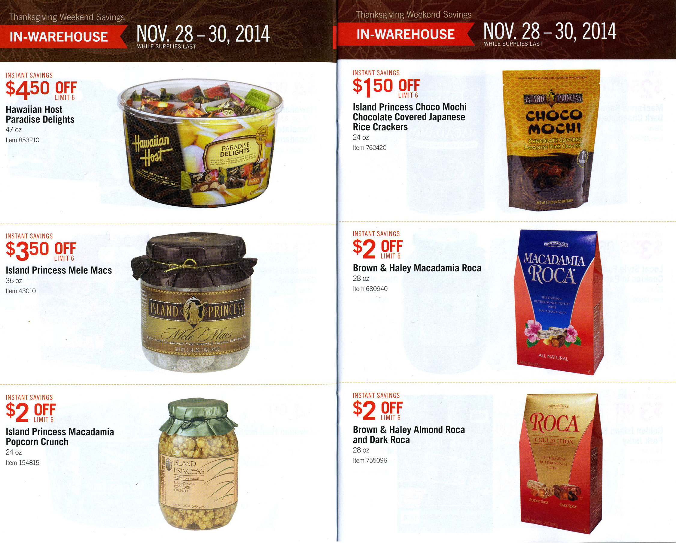 Costco Hawaii \'Kine Grindz Thanksgiving Weekend Deals – Tasty Island