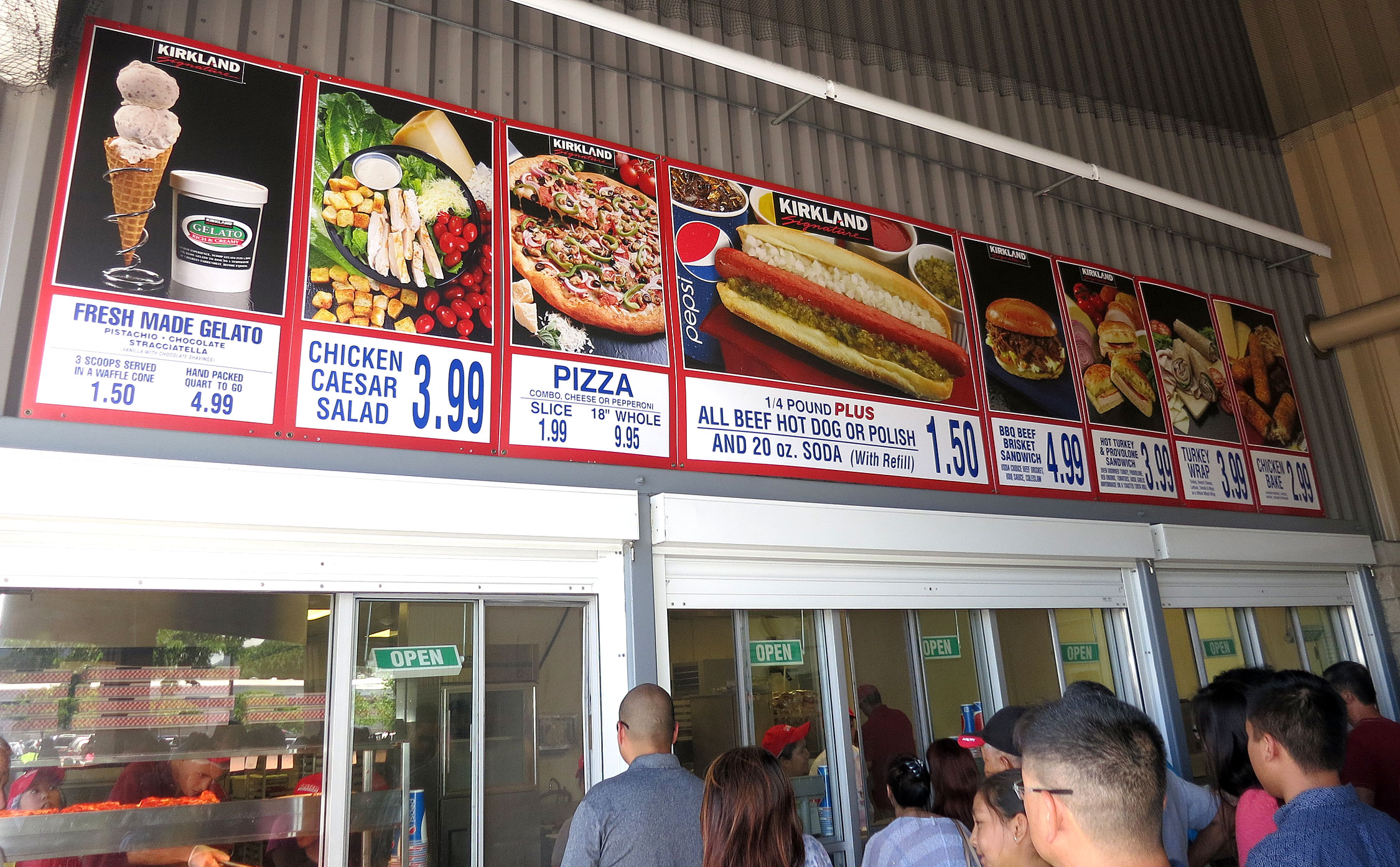 Costco Fast Food Menu