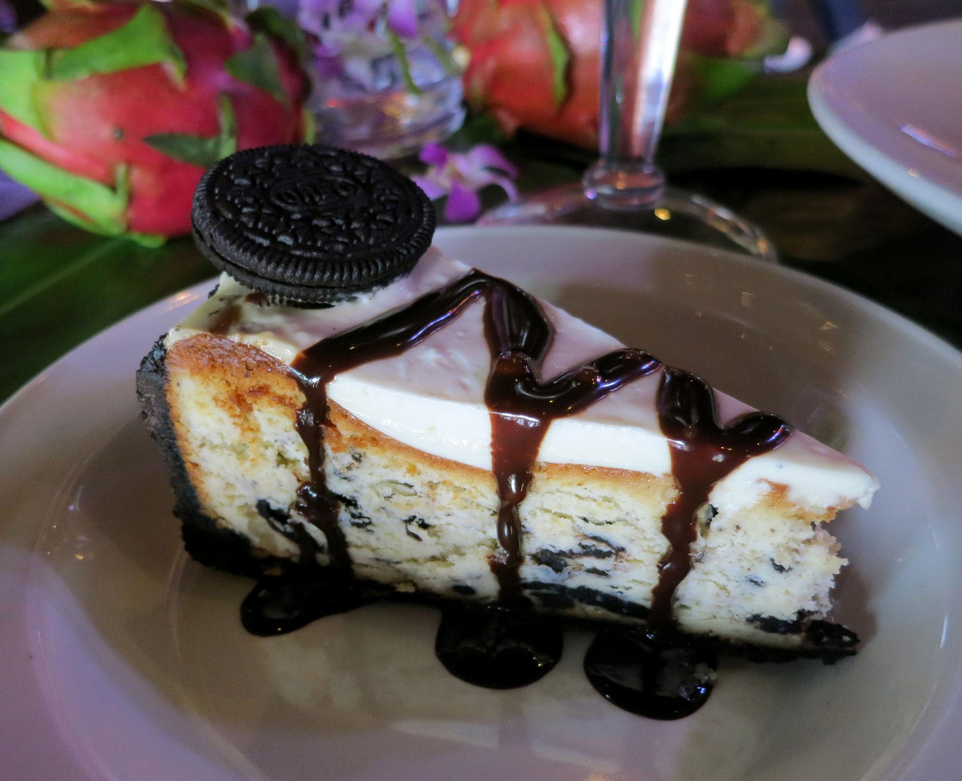 Oreo Cheesecake Hard Rock Cafe