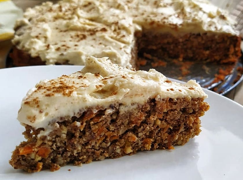 ketogener Karroten Kuchen Rezept Low carb