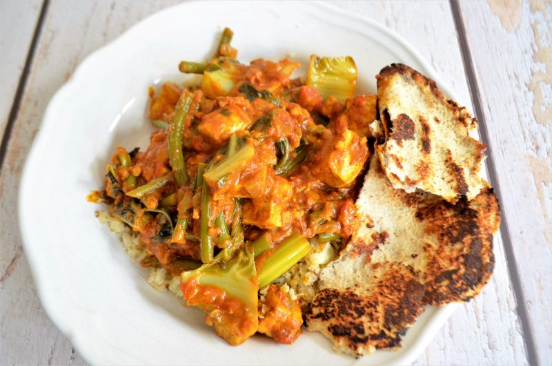 Veganes Keto Low Carb Butter Chicken