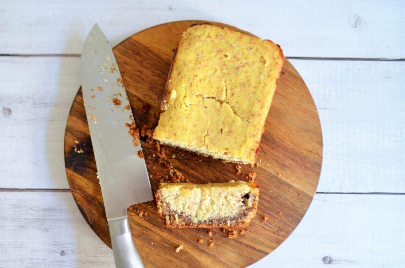 Ketogener Low Carb Zitronen Kuchen