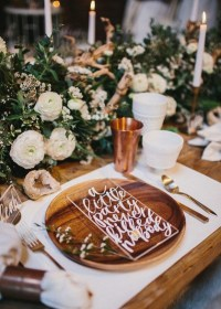31+ Romantic Wedding Table Setting Ideas for Couples