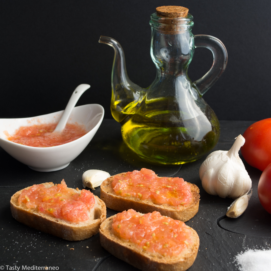 Pan con tomate Pan tumaca Pa amb tomquet Pa amb oli