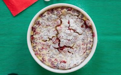 Cranberry Clafoutis van Yvette Van Boven