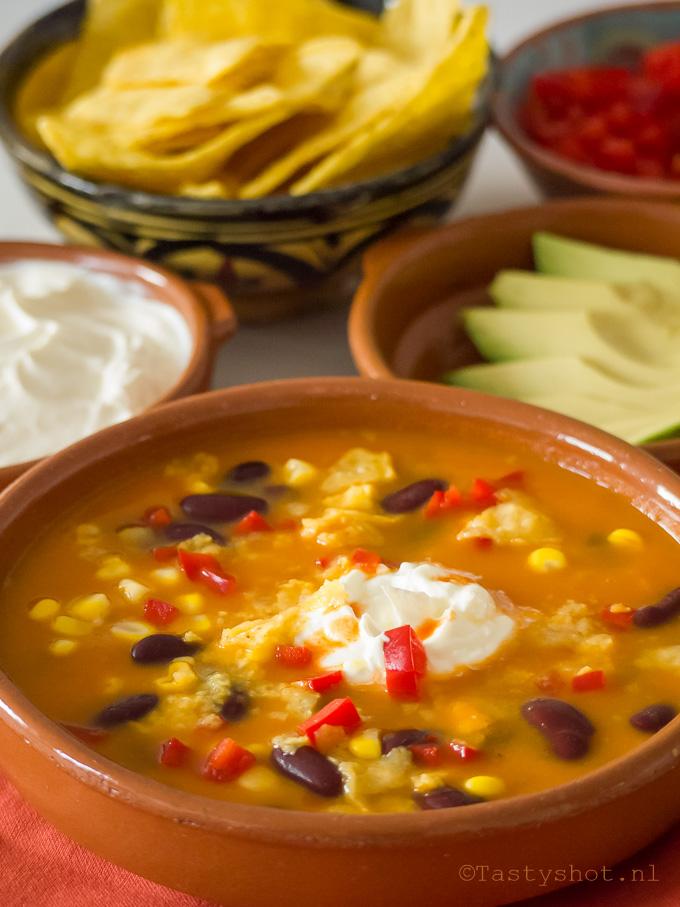 Mexicaanse Zoete Aardappelsoep